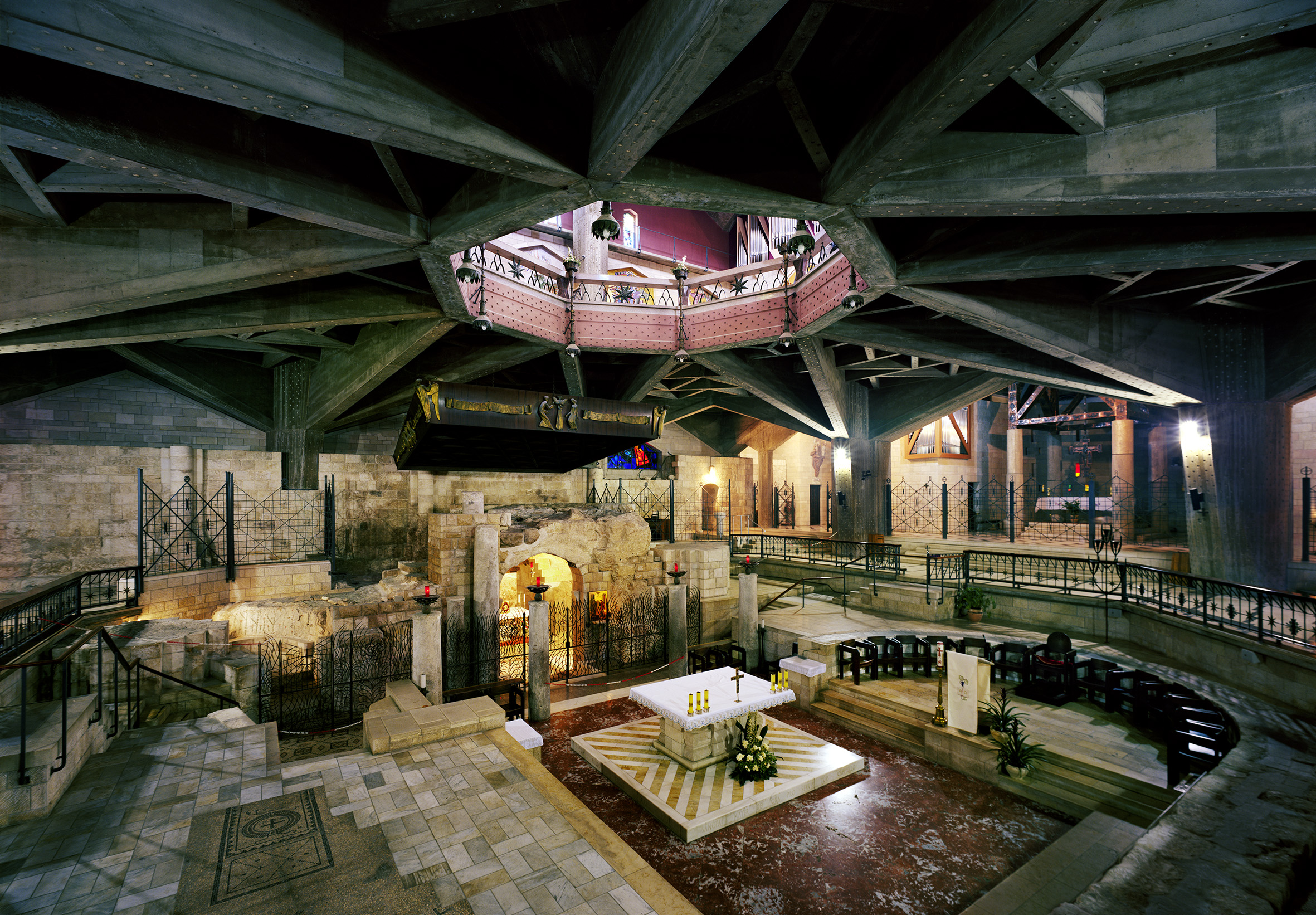 Thomas Struth, Basilica of the Annunciation, Nazareth, 2014.