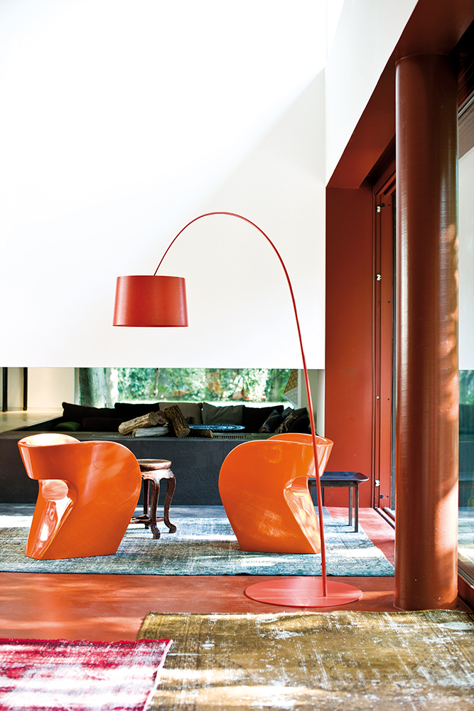 Victoria and Albert, design di Ron Arad per Moroso.