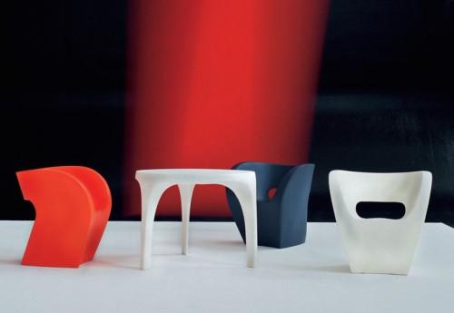 Victoria and Albert, design di Ron Arad per Moroso.