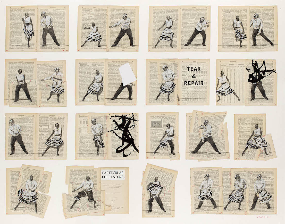 William Kentridge, Particular Collisions, 2013.