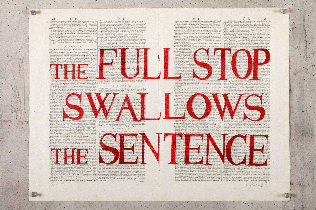 William Kentridge, Rubrics, 2012.