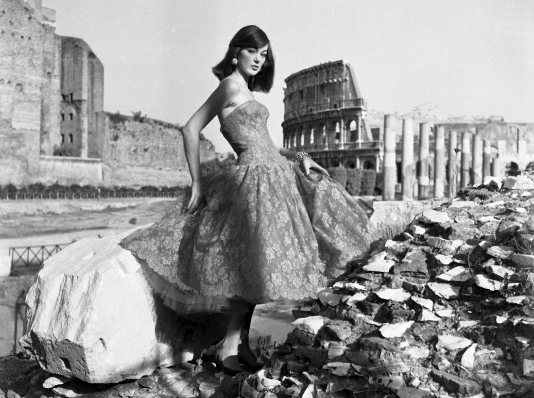 Roma, 1954. Collezione Fernanda Gattinoni