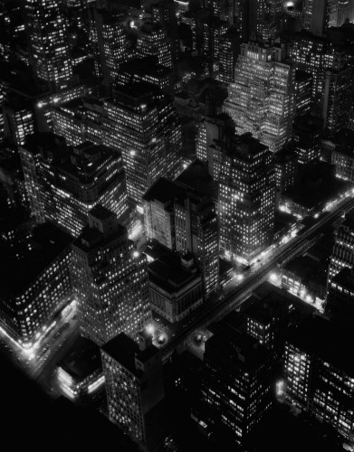 Berenice Abbott, New York City, 1932.