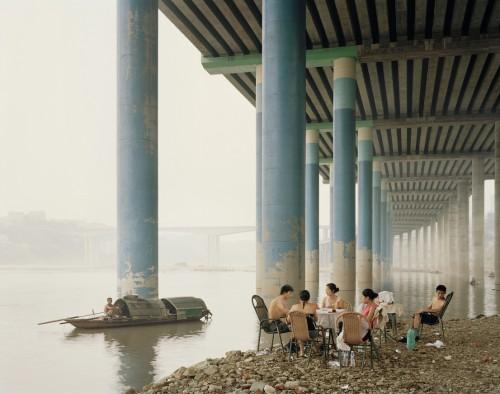 Nadav Kander, Chongqing IV, Sunday Picnic, Chongqing Municipality, 2006.