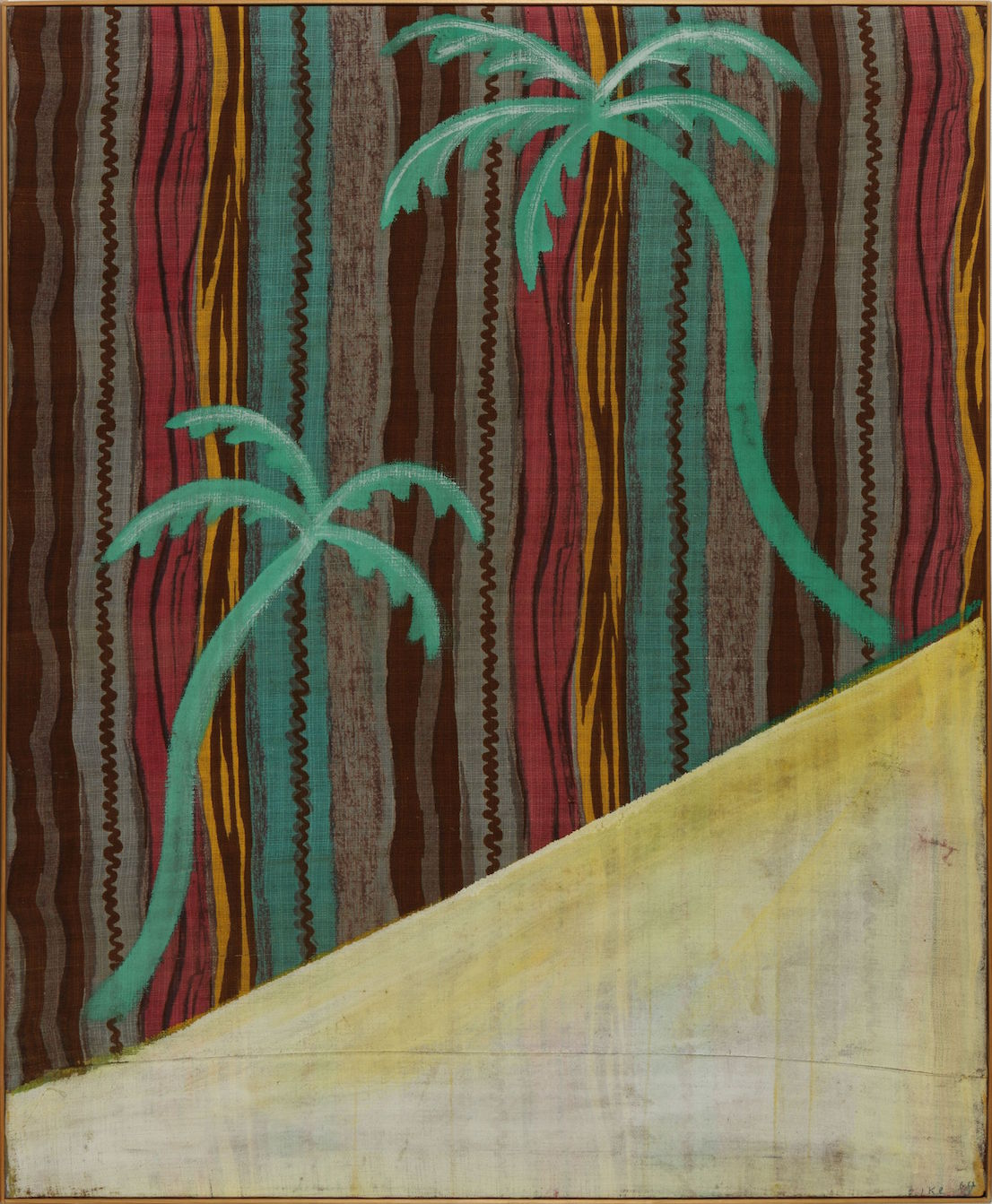 Sigmar Polke (1941 - 2010) The Palm Painting (Das Palmenbild) 1964 © The Estate of Sigmar Polke / DACS, London / VG Bild-Kunst, Bonn.