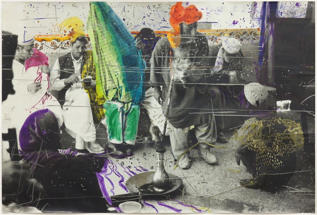 Sigmar Polke (1941 - 2010) Untitled (Quetta, Pakistan) 1974-1978 Glenstone Foundation (Potomac, USA) © The Estate of Sigmar Polke / DACS, London / VG Bild-Kunst, Bonn.