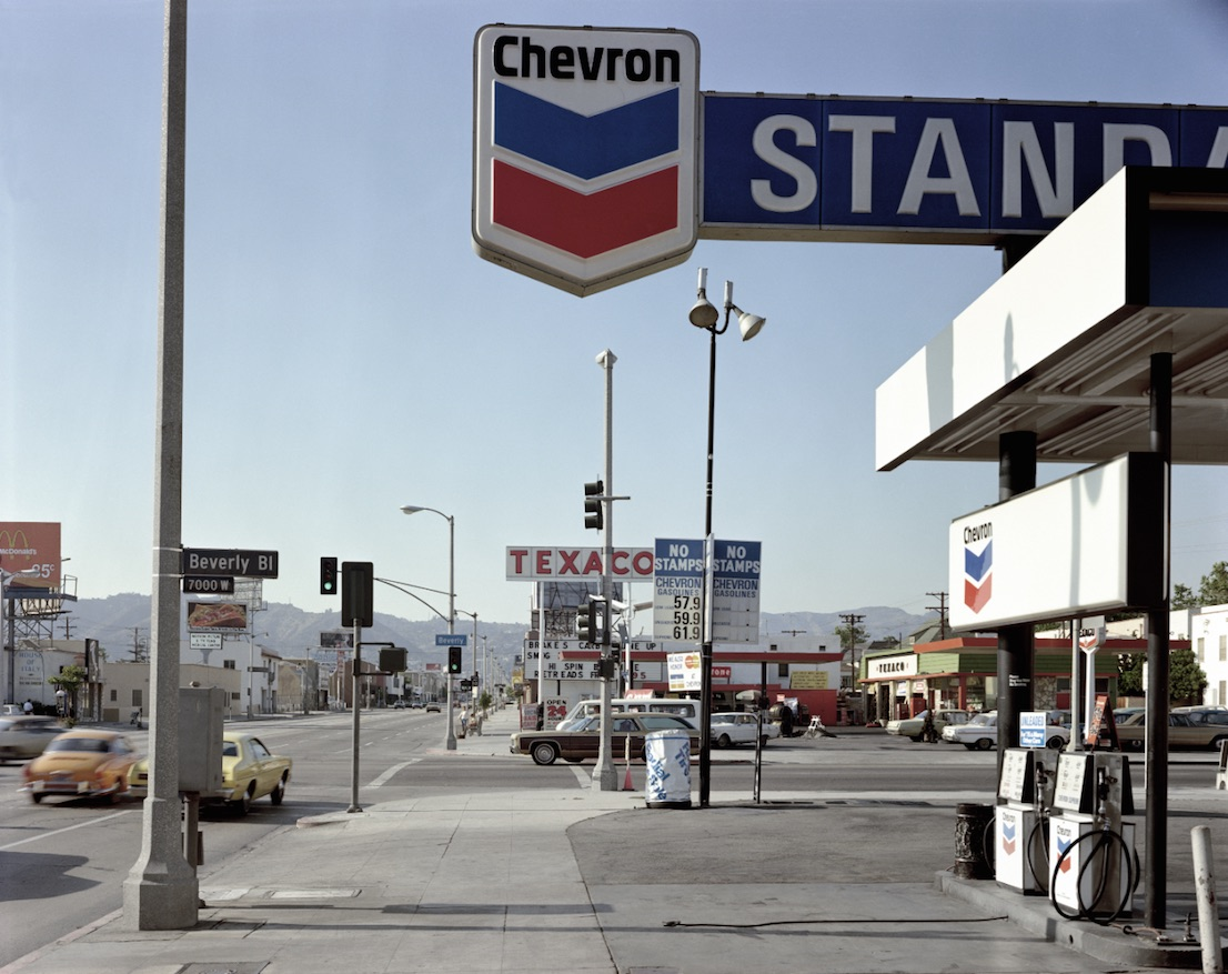Stephen Shore, Beverly Boulevard and La Brea Avenue, Los Angeles. CA, 21 June 1974.