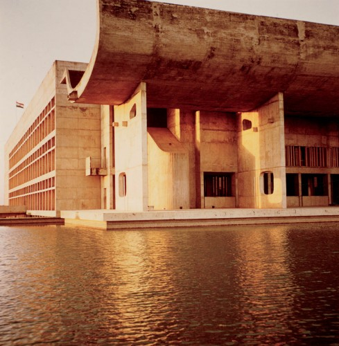 Le Corbusier, Palace of the Assembly Chandigarh.