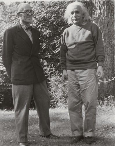 Le Corbusier con Einstein