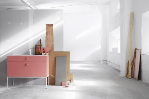 Bagno componibile, design di Fredrik Wallner per Swoon.