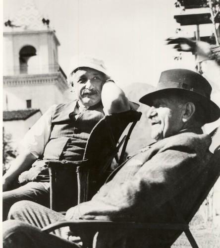 Albert Einstein, Palm Springs.