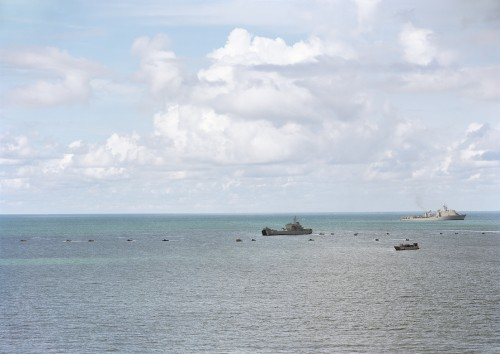 An-My Lê, Amphibious Landing, Gulf of Thailand, 2010, from Events Ashore (Aperture, 2014). © An-My Lê, courtesy Murray Guy Gallery, New York.