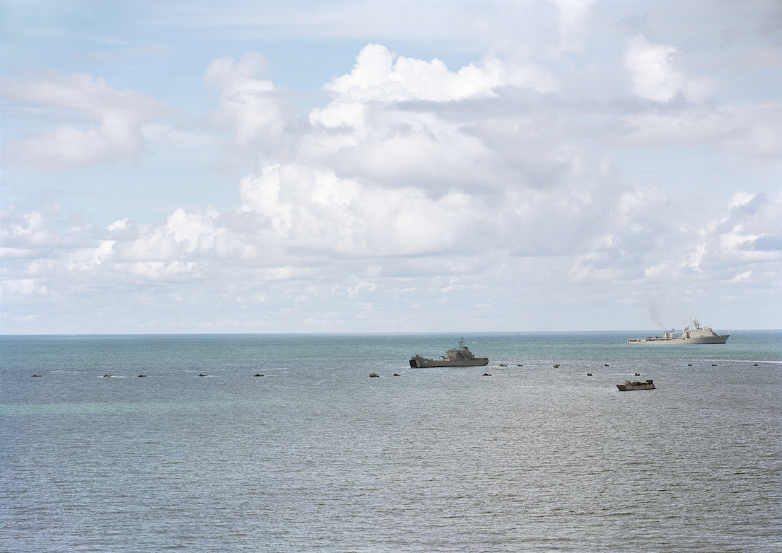 An-My Lê, Amphibious Landing, Gulf of Thailand, 2010, from Events Ashore (Aperture, 2014). © An-My Lê, courtesy Murray Guy Gallery, New York.