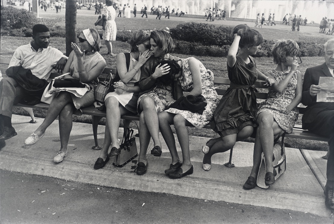 New York World's Fair 1964. Garry Winogrand. San Francisco Museum of Modern Art, gift of Dr. L. F. Peede, Jr. © The Estate of Garry Winogrand, courtesy Fraenkel Gallery, San Francisco.