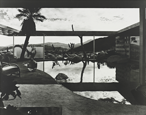 Raymond Loewy House, Palm Springs, California, designed by Albert Frey. Photo Julius Shulman, 1947.