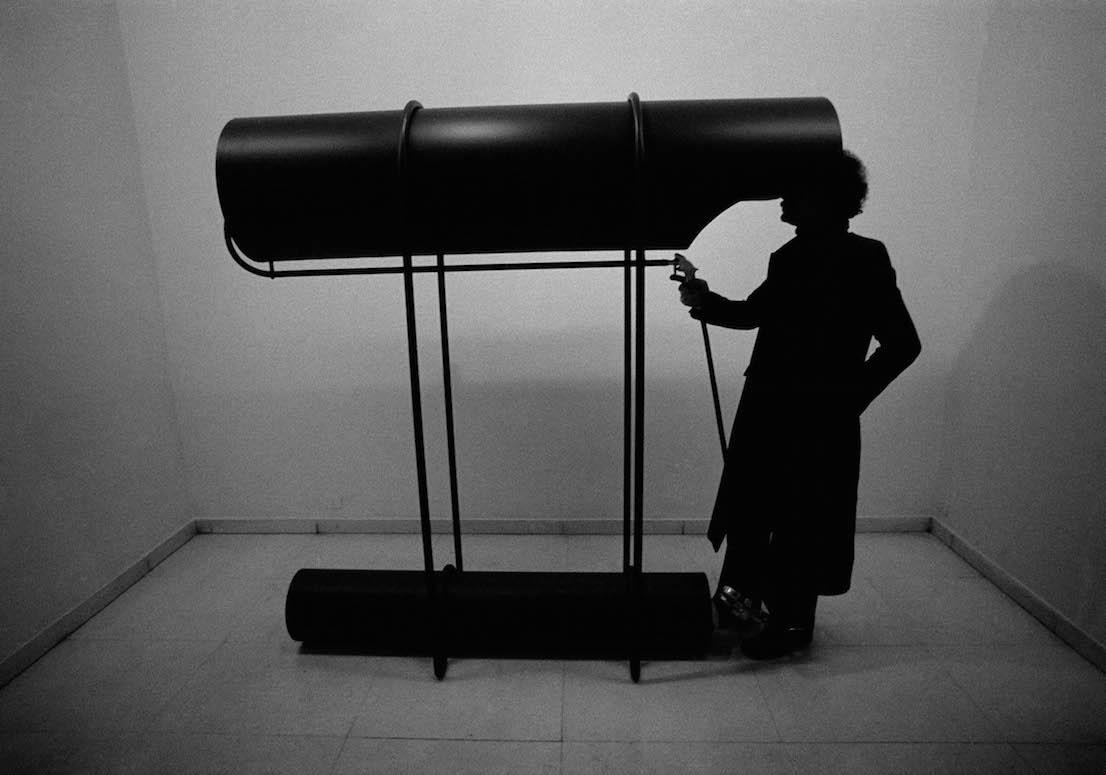 """Ugo La Pietra, Diagramma Immersione """"Colpo di vento (una boccata d'ossigeno)"""", 1970. Courtesy Archivio Ugo La Pietra."""