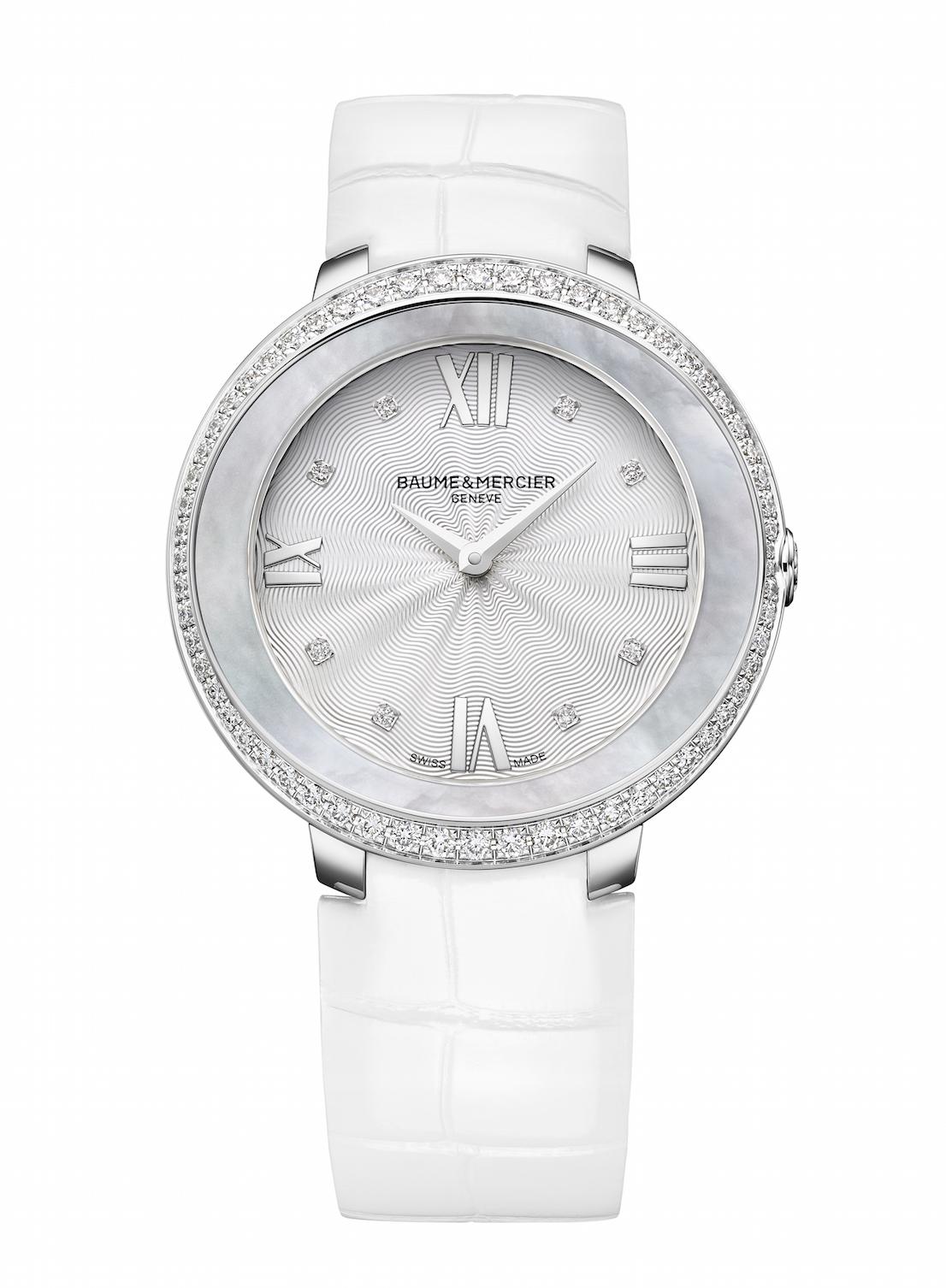 Il nuovo orologio femminile Promesse di Baume & Mercier.