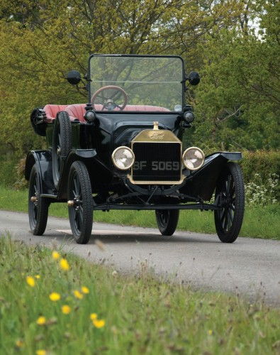 1915 Ford Model T tourer owned by Michael Flather.