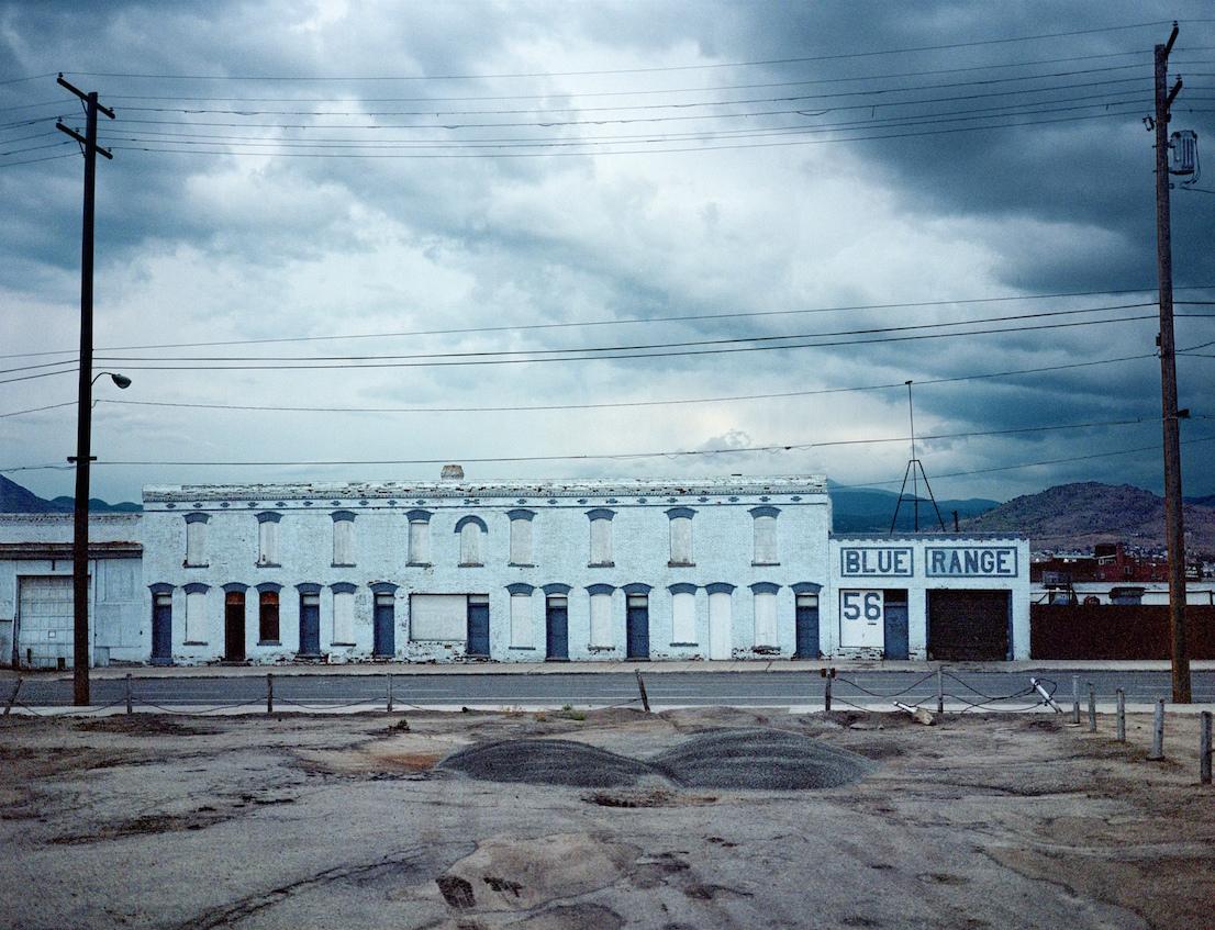 Wim Wenders, Blue Range, Butte Montana, 2000.