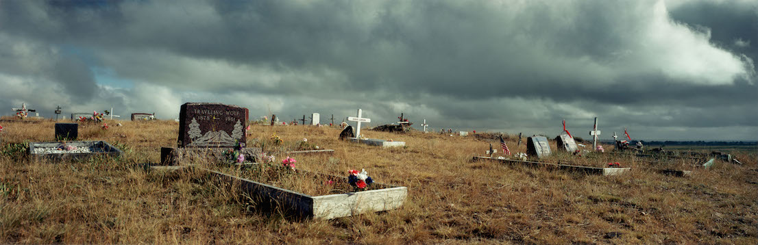Wim Wenders, Indian Cemetery in Montana, 2000