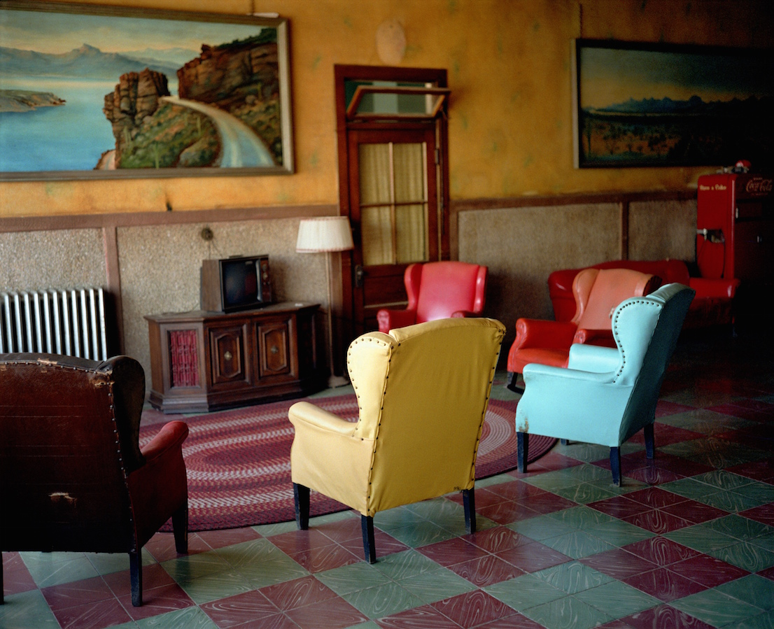 Wim Venders, Lounge Painting, Gila Bend Arizona, 1983