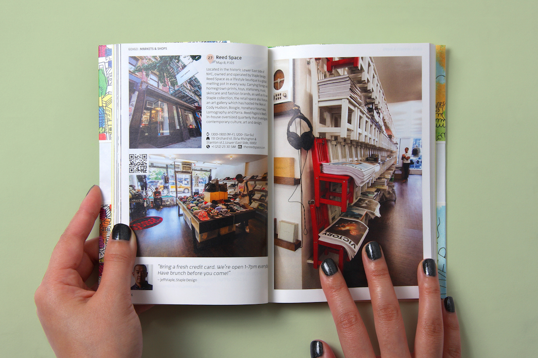 CITIx60 Guides, una collana di guide tascabili pubblicata da Viction:ary.