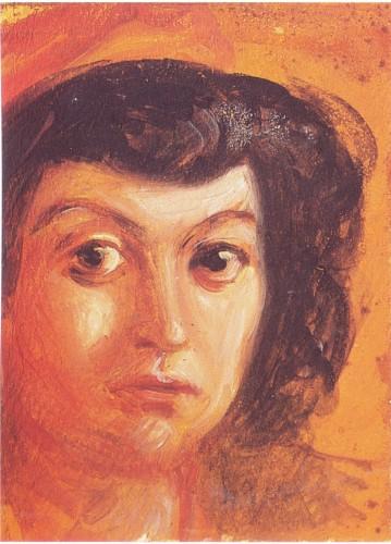 Lina Bo Bardi, ritratto attribuito a De Chirico
