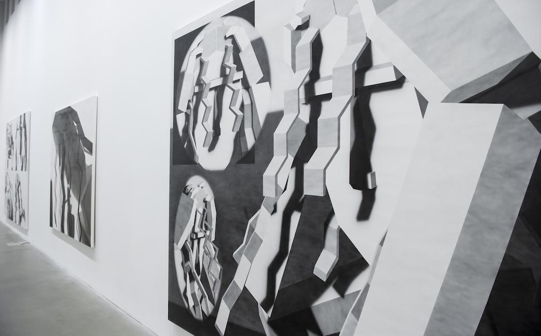 Inaugurazione Fondazione Sandretto Re Rebaudengo Mostre di Avery Singer, Fobofilia, United Artists of Italy Torino, 12 Febbraio 2015 © Giorgio Perottino