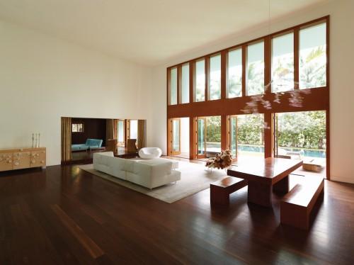 Villa Allegra, un progetto a cura di Chad Oppenheim. Miami Beach, Florida.