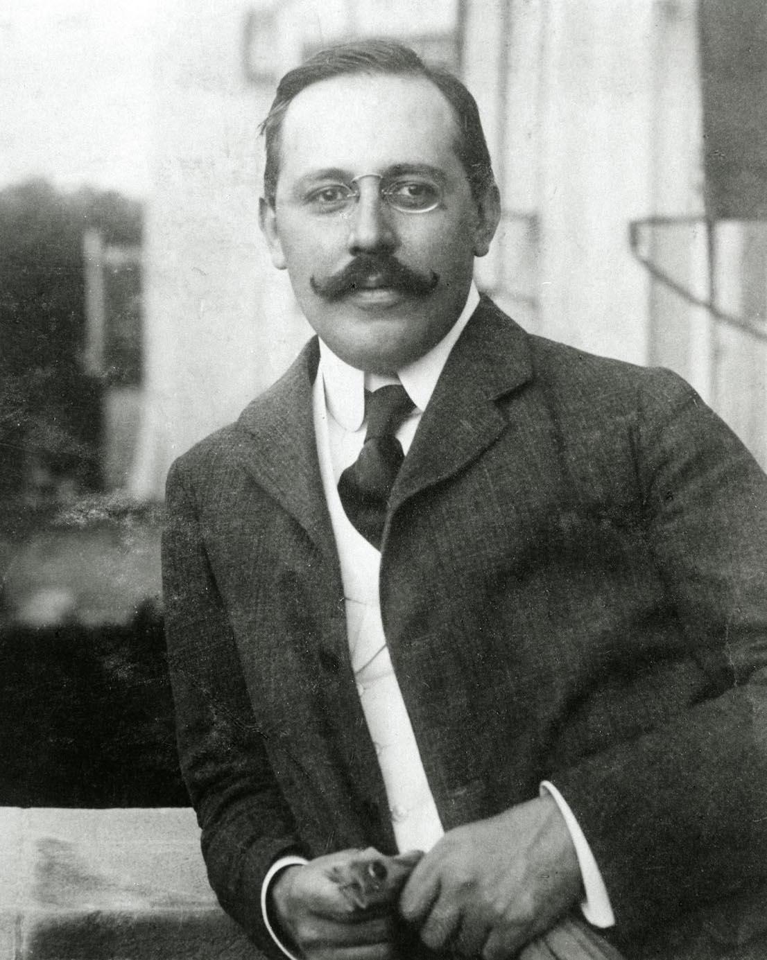 Josef Hoffmann, 1903. © MAK.