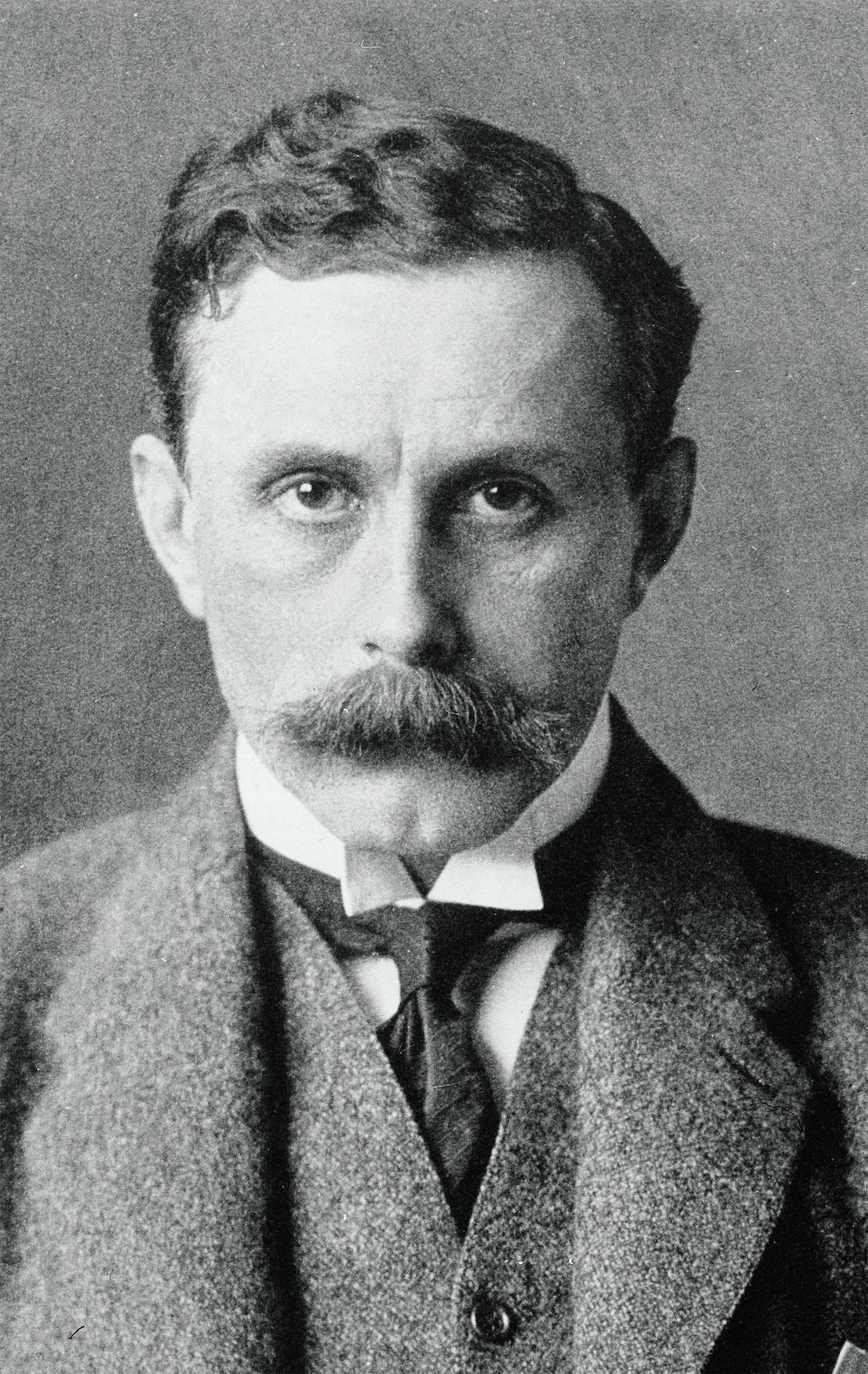 Adolf Loos, 1903. © ÖNB/Wien, NB 509090-B