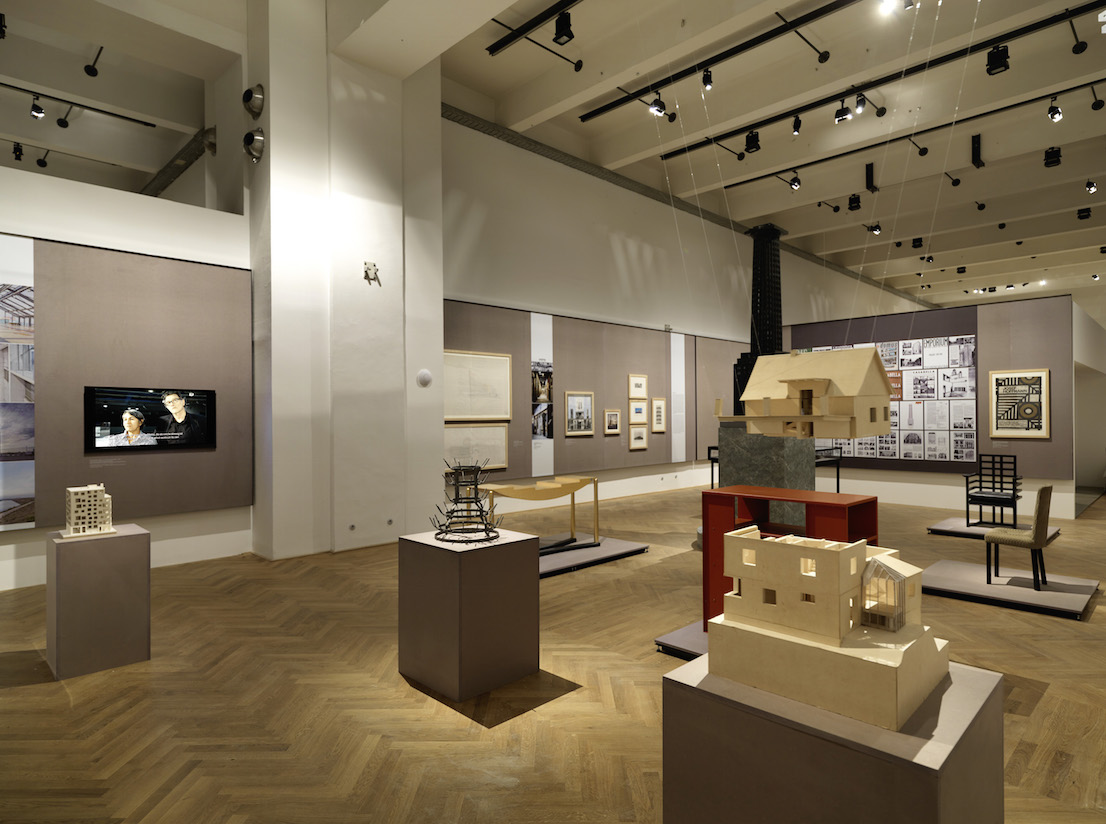 MAK Exhibition View, 2014 WAYS TO MODERNISM. Josef Hoffmann, Adolf Loos, and Their Impact MAK Exhibition Hall © Peter Kainz/MAK