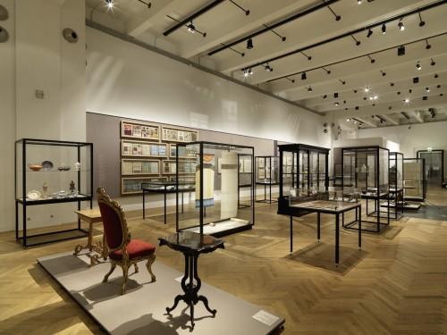 MAK Exhibition View, 2014 WAYS TO MODERNISM. Josef Hoffmann, Adolf Loos, and Their Impact MAK Exhibition Hall © Peter Kainz/MAK