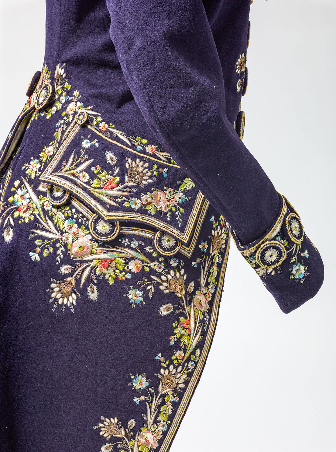 Anonym Men's coat, Vienna, beginning of 19th c. © MAK/Georg Mayer