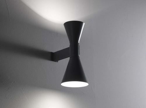 Lampe de Marseille, design di Le Corbusier, Nemo. Applique.