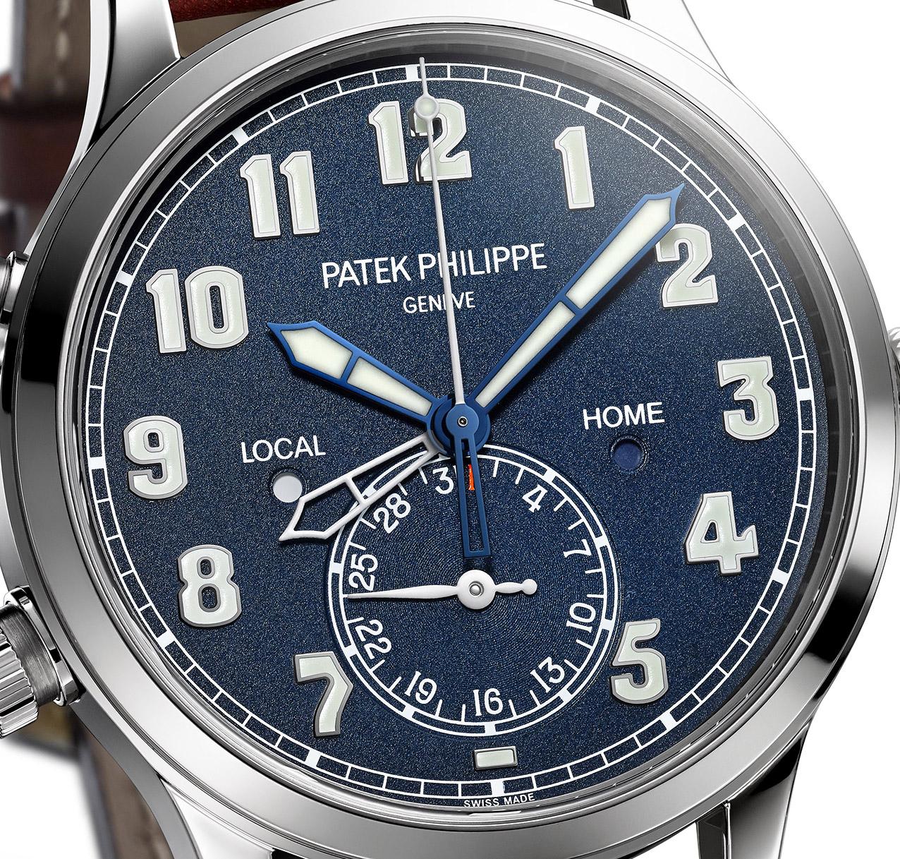 Calatrava Pilot, Travel Time 5524 , Patek Philippe.
