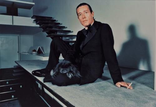 Halston, foto di Harry Benson.