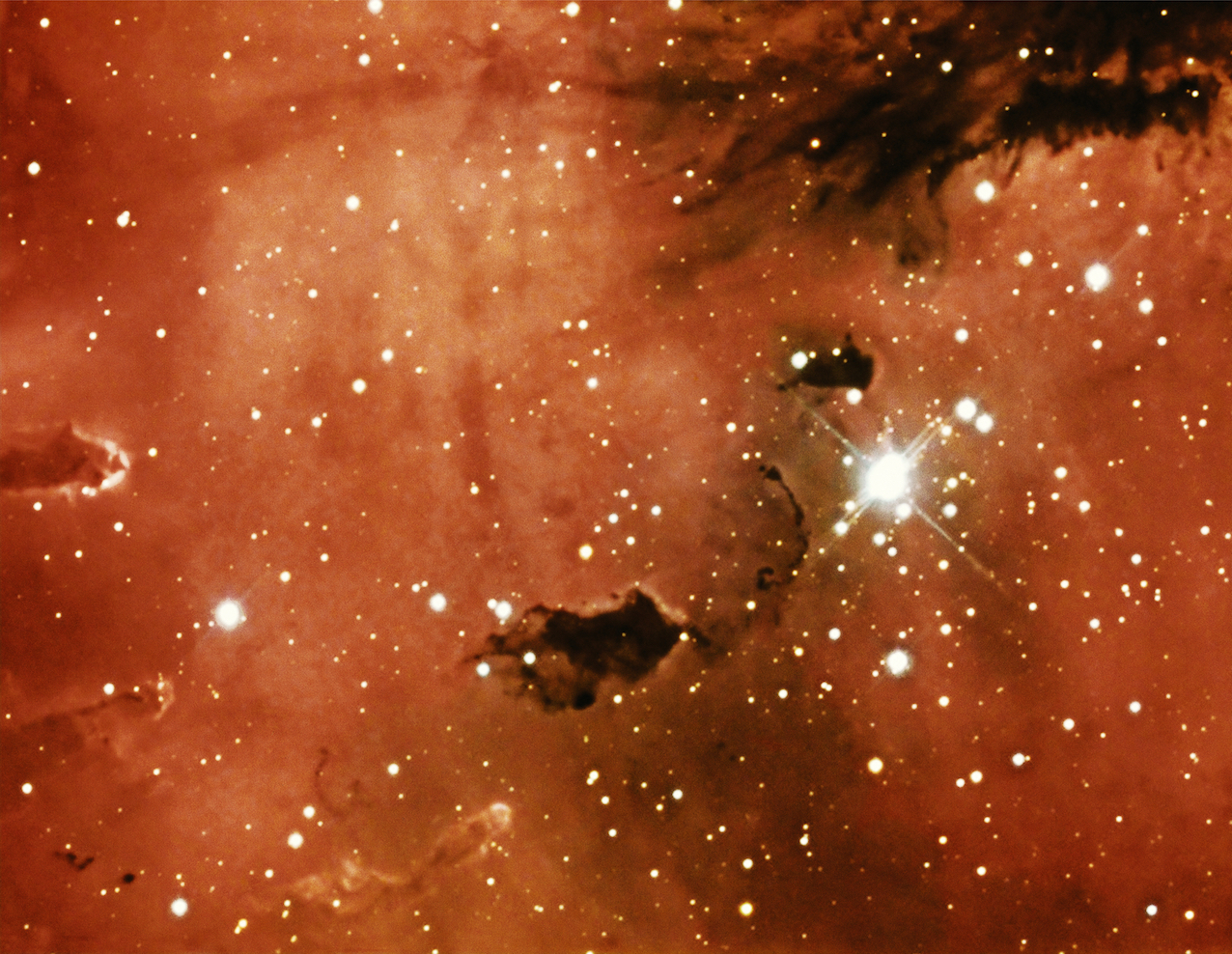 Taryn Simon, An American Index of the Hidden and Unfamiliar, 2007. Courtesy: Taryn Simon. NGC 281, The Pacman Nebula. Kitt Peak National Observatory Tohono O'odham Reservation, Arizona.
