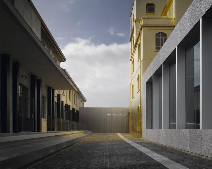 Fondazione Prada. Nuova sede di Milano. Architectural project by OMA. Photo: Bas Princen, 2015. Courtesy: Fondazione Prada.