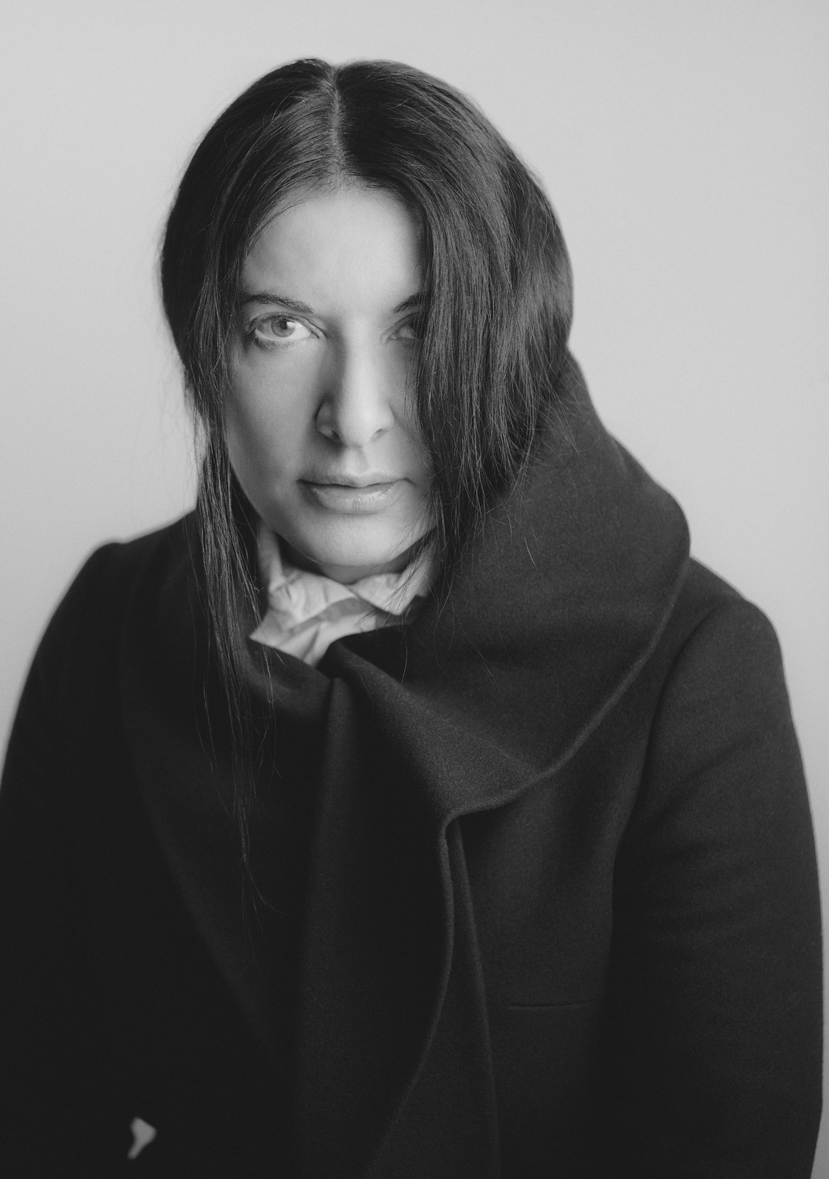 Marina Abramović. Photo: Nabil Elderkin, 2013.