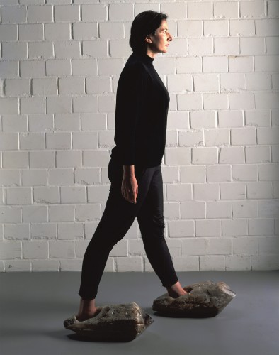 Marina Abramović, Shoes for Departure.