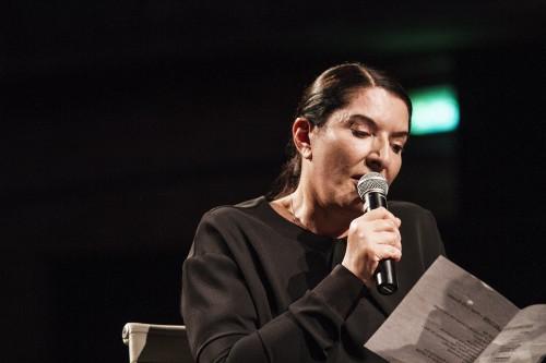 Marina Abramović, Brasil, 2015.