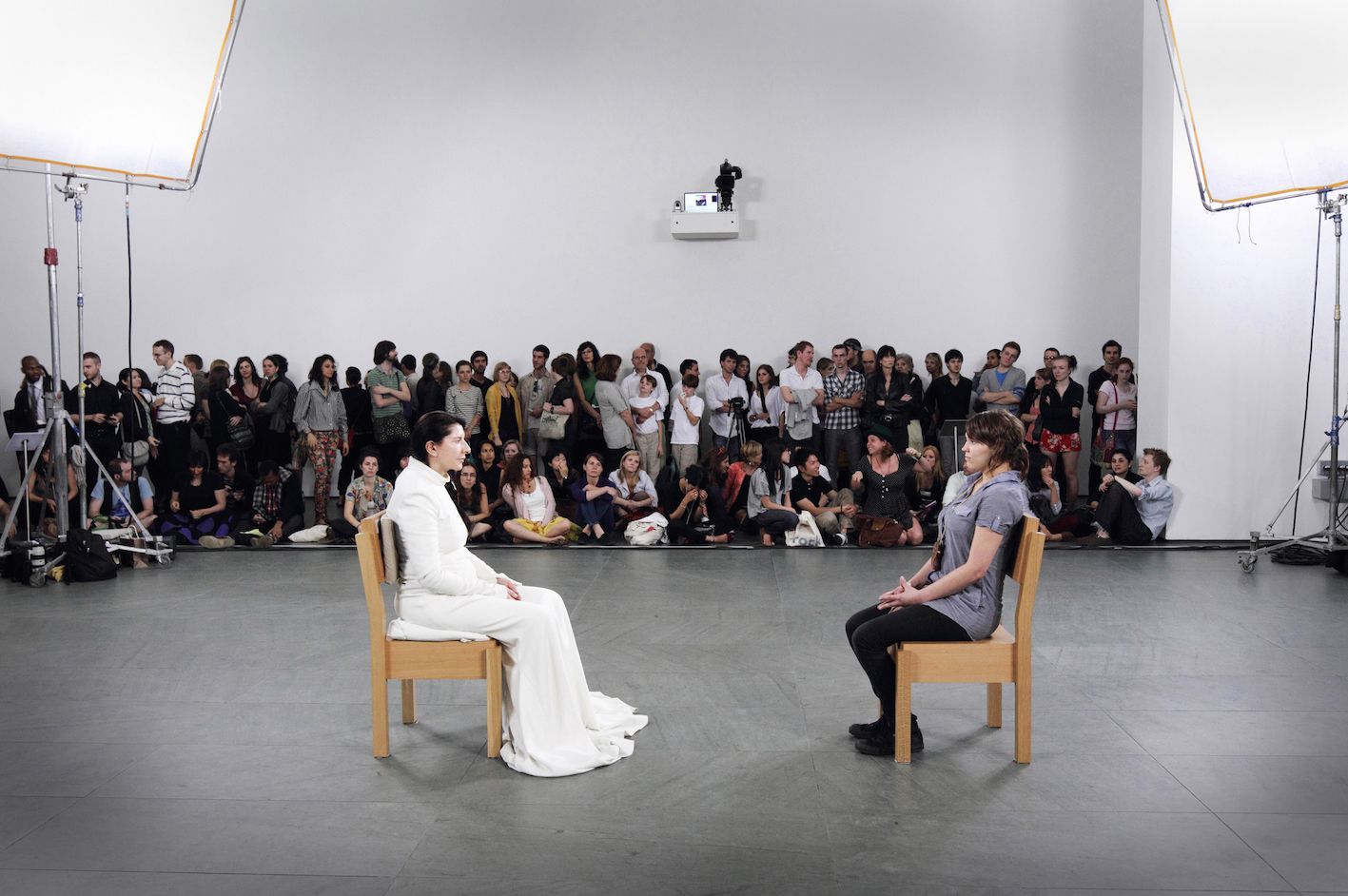 Marina Abramović, The Artist is Present.