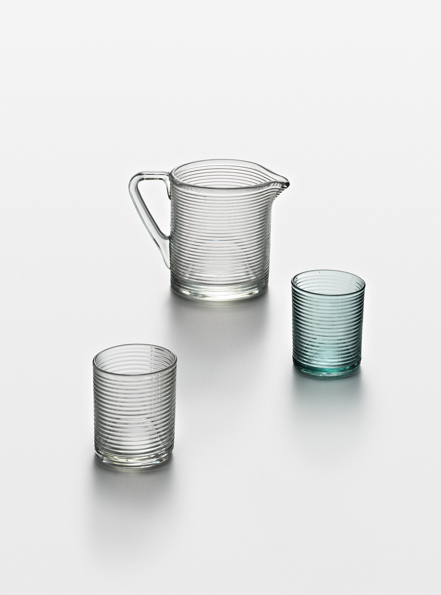 Aino Aalto, Pitcher and tumblers, 1936.