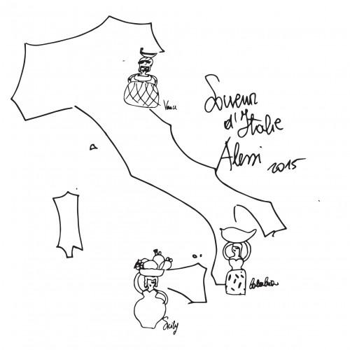 Souvenir d'Italie, Alessi.
