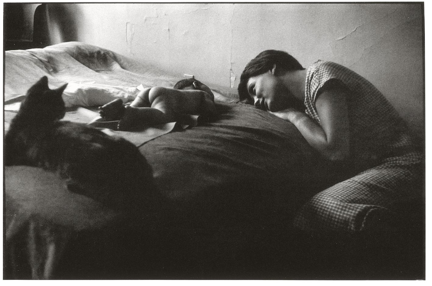 New York, 1953. Foto di Elliot Erwitt.