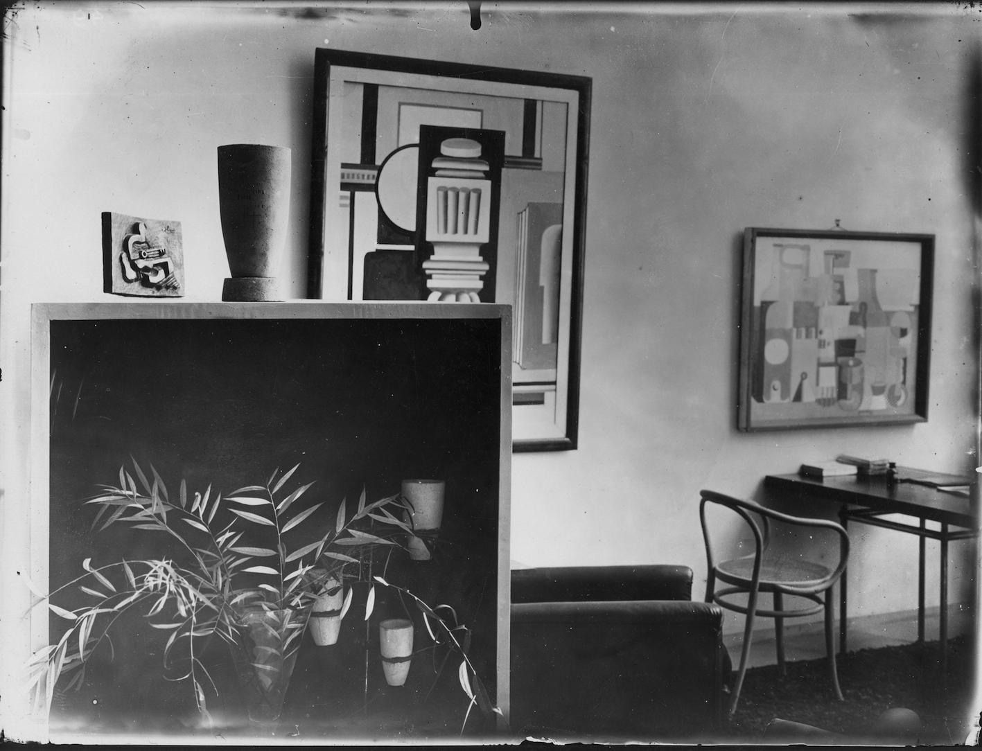 Le Corbusier, Pierre Jeanneret, Pavillon de l'Esprit Nouveau, Paris, 1925.
