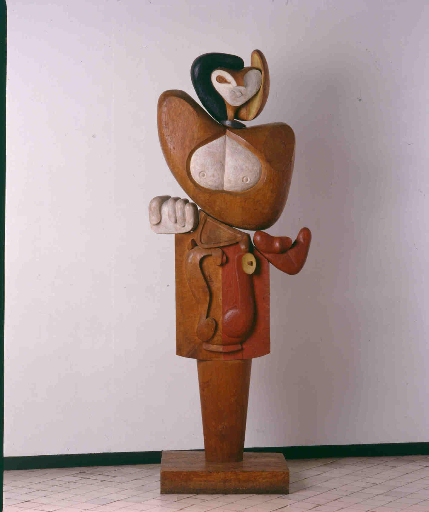 Le Corbusier, Femme, 1953.