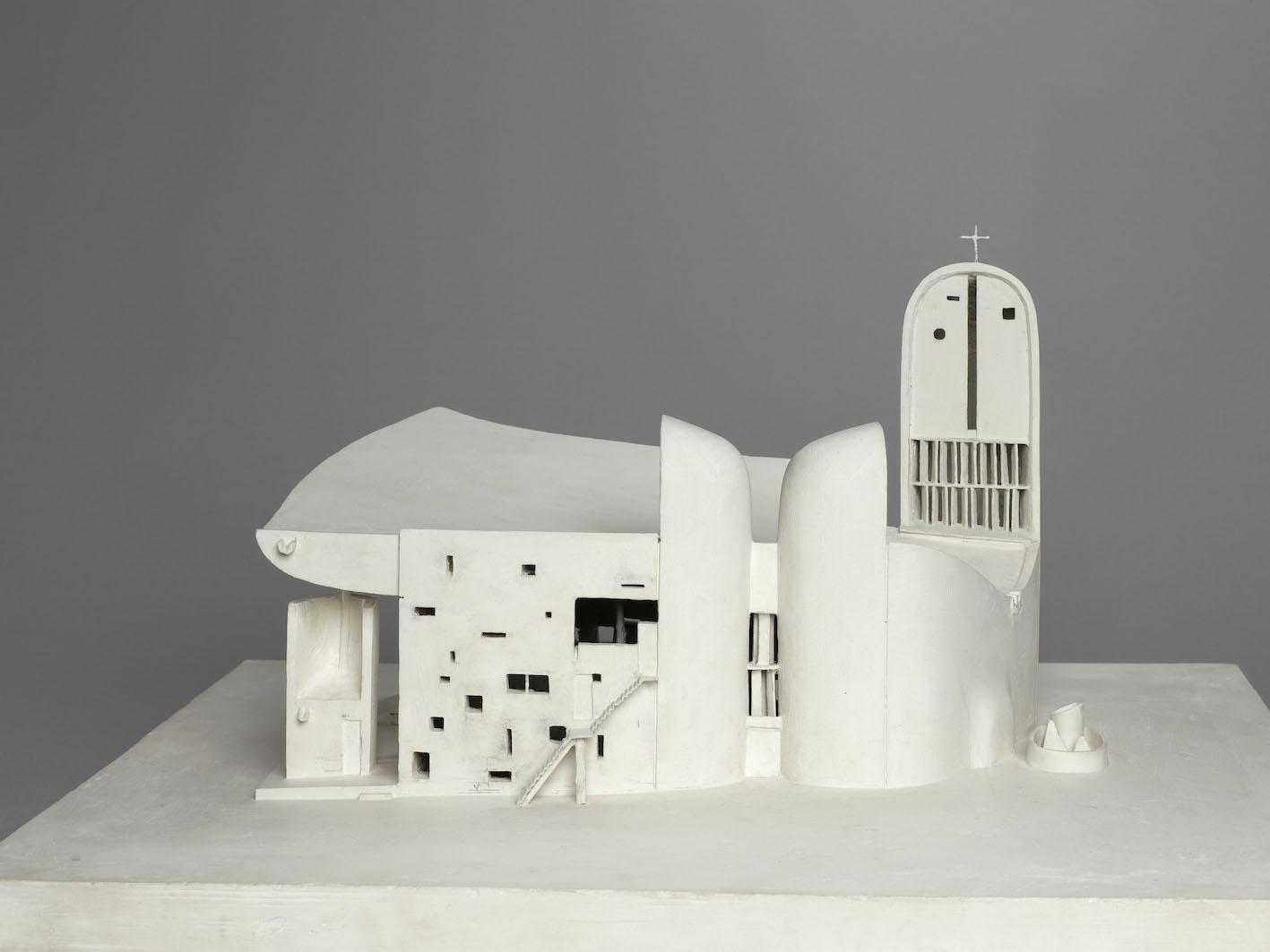 Le Corbusier, Chapelle Notre-Dame-du-Haut, Ronchamp, 1955.