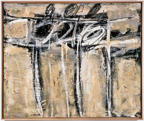 Cy Twombly, Untitled, 1951. Courtesy: Cy Twombly Foundation.